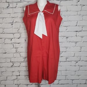 Vintage Sailor Romper